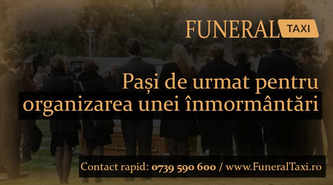 Pasi de urmat pentru organizarea unei inmormantari