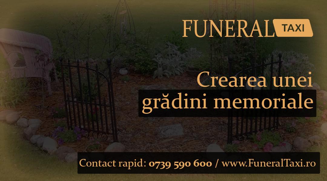 Crearea unei gradini memoriale